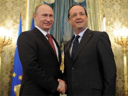 روسيا وفرنسا متفقتان على عدم السماح بانقسام سوريا