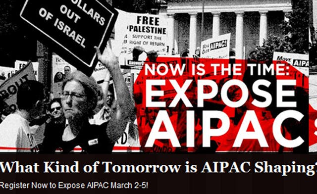 'Expose AIPAC': U.S. activists campaign against Israeli lobby in America