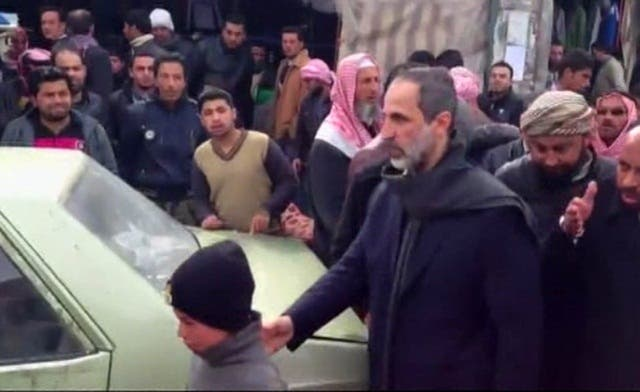 Khatib visits Aleppo villages as Syria opponents vote for council